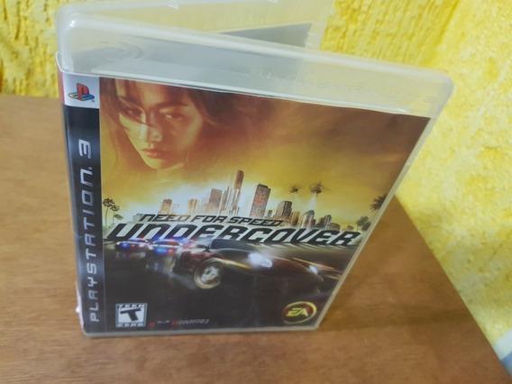 Need For Speed Undercover Usado Original Ps3 Midia Física