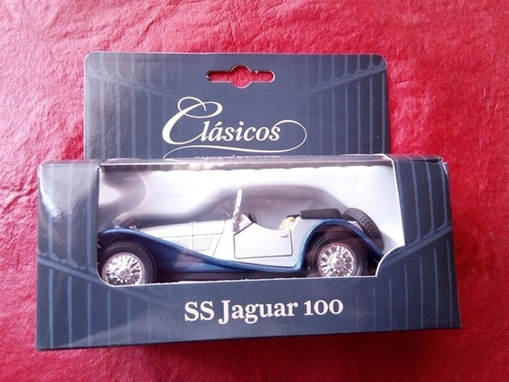 Jaguar Ss 100 Coleccion Original Autos Clasicos Clarin Nuevo