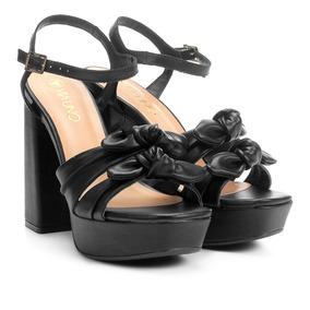 6c75e0b1d Sandalia Meia Pata Via Uno Feminino - Sapatos com o Melhores Preços ...