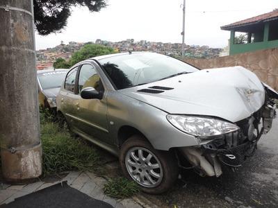 Peugeot 206 Feline 2007/2008 1.4 8v Flex ((((( Sucata )))))