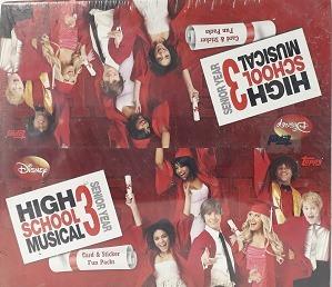 Cartas Colecionáveis High School Musical 3 - Importado
