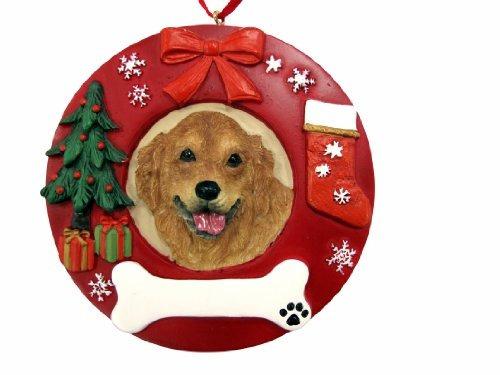 Ey S Pets Golden Retriever Ornamento De Navidad Personali