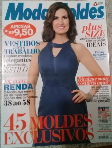 Revista Moda Moldes Fátima Bernardes