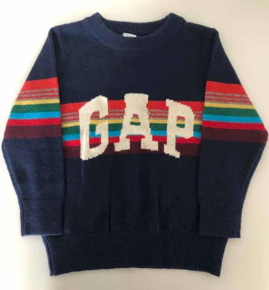Blusa Suéter Infantil Menino Gap Pronta Entrega Tam 2t