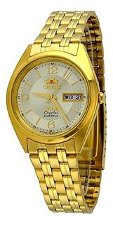 Reloj Orient Automatico 21 Rubies Dorado Fab0000cc Hombre