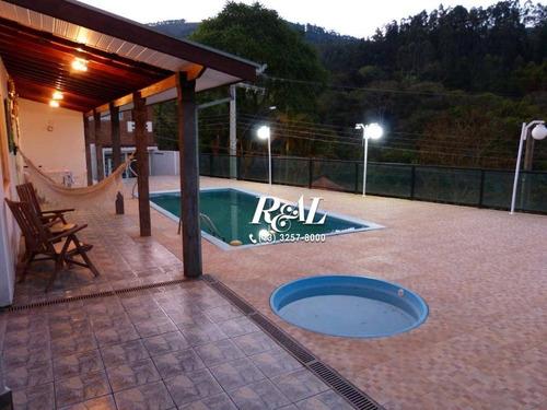 Chácara Residencial À Venda, Vila Santista, Serra Negra. - Ch0012