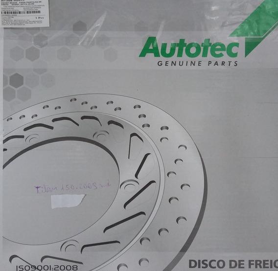 Disco De Freio Dianteiro Titan 150