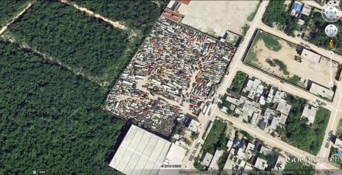 Terreno En Venta Sobre Avenida Y Alado Del Hospital General En Playa Del Carmen