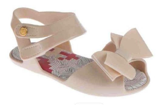 Sandália Pimpolho Colorê Bege