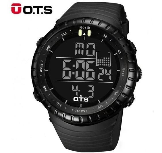 Relogio Ots Digital T7005g Esportivo Militar Shock Corrida