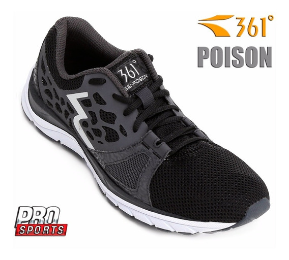361° Tênis Poison Black Ebony - Original - N