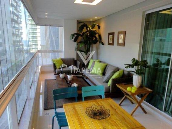 Apartamento Mobiliado 04 Suítes Em Até 60x - Ref 584
