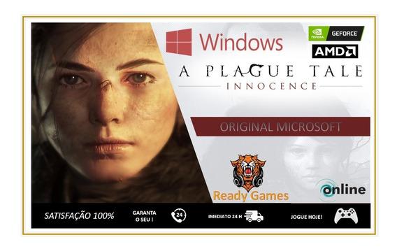 A Plague Tale Innocence Pc - Original Microsoft