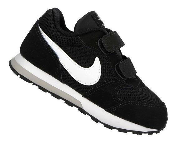 Tênis Nike Infantil Md Runner Td Preto 806255001 Original