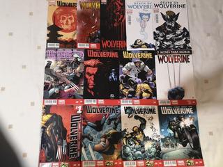 Lote Wolverine Marvel Comics