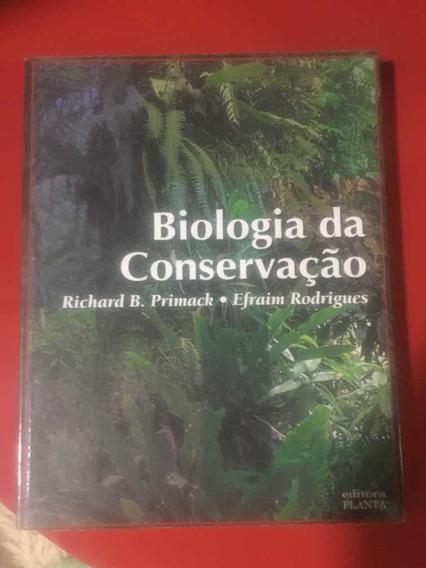 Livro Biologia Da Conservação