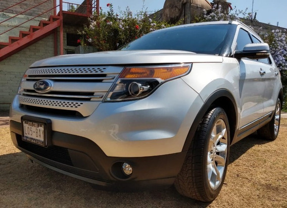 Ford Explorer 2012 Limited 4wd 6 Cilindros