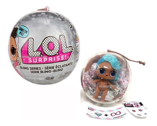 Lol Bling Serie 4 Lol Surprise Original Scarletkids