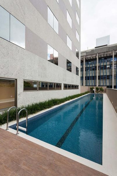 Flat Com 1 Quartos Para Comprar No Cidade Jardim Em Belo Horizonte/mg - 1104