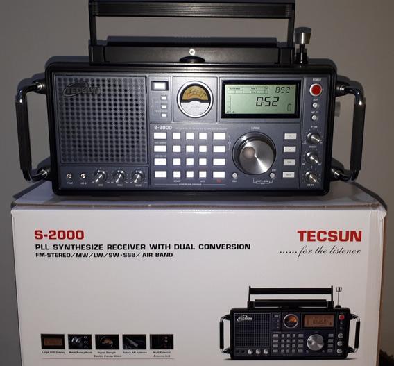 Rádio Tecsun S2000 Promoção Semi Novo, Manual Em Portugues