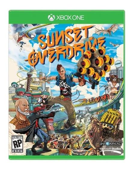 Jogo Sunset Overdrive Xbox One Midia Fisica Original Lacrado