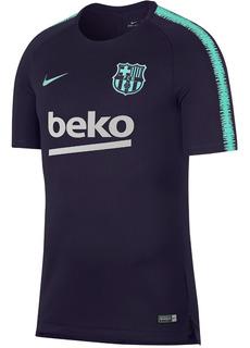 Jersey Barcelona Nike Entrenamiento Morado Original 2018