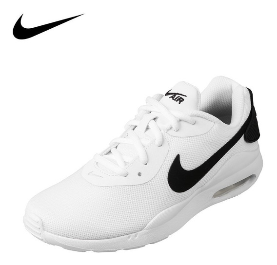 Tenis Nike Air Max Oketo Wmns Blanco/negro - Aq2231 100