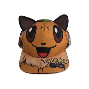 Pokemon Go Gorra Pikachu Pokebola Eevee Con Envio Incluido!