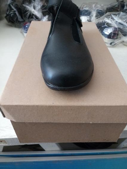 Zapato De Dama Negro 36
