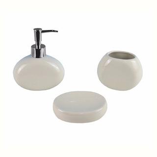 Set 3 Piezas Apoyo Apoyar Sorrento Baño Accesorios Diseño !