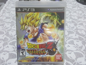 Jogo Ps3 Dragon Ball Z Ultimate Tenkaichi Mídia Física