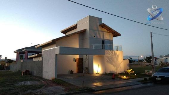 Sobrado Com 4 Dormitórios À Venda, 189 M² Por R$ 680.000,00 - Terras Do Vale - Caçapava/sp - So0288