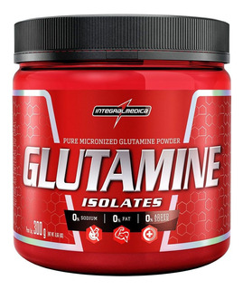 Glutamina Powder Isolate - Natural 300g - Integralmedica