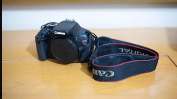 Canon T3i + 50mm 1.8 + Caixa Com Acessorios