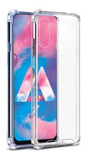 Capinha Crystal Shell Samsung Galaxy M30 6.4 + Pel Vidro