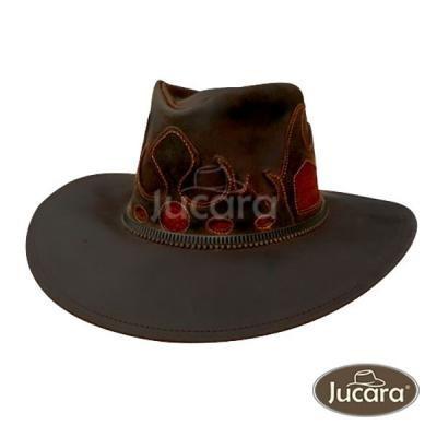 Sombrero Jucara Australiano Fantasia Combinado Con Pelo ...