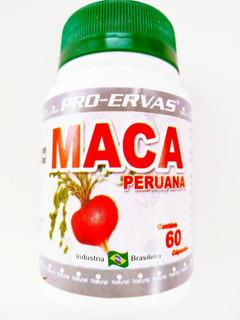Maca Peruana Kit Com 10 Unidades 500mg 60cap Promoção