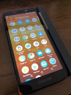 Smartphone Motorola Moto E5 Play 16gb Defeito Ler O Anuncio