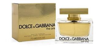 Perfume Dolce Gabban The One Dama 75ml Edp Spray
