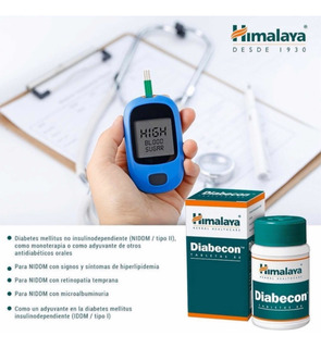 Diabecon Himalaya X60 Regulador Metabólico Diabetico Origina