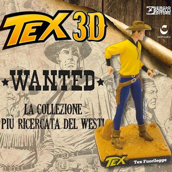 Coleção Tex 3d - Miniatura 9 Tex Fuorilegge