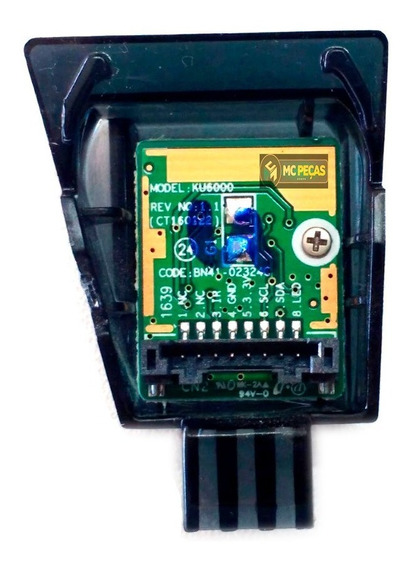 Placa Sensor De Controle Remoto Tv Samsung Bn41-02324c Novo!