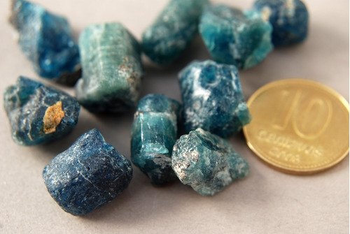 Imagen 1 de 1 de Piedra Cristal De Apatito Azul Nro. 1