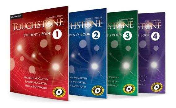 Coleção Touchstone 2th Edition C/ Teachers + Entrega Em 5 Mi