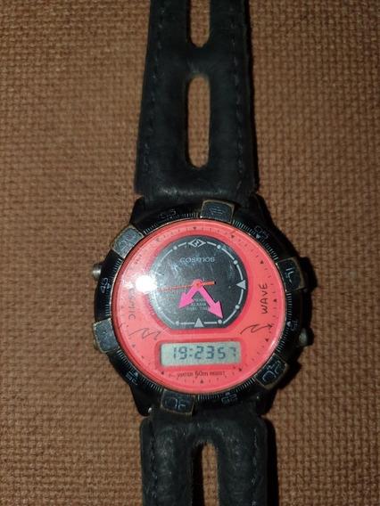 Relógio Cosmos Wave Anos 80/90