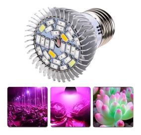 Lâmpada Led Full Spectrum 28w 220/110v Indoor Grow E27 Plant