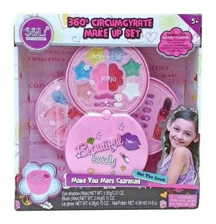 Poppi Maquillaje Para Niñas Set Make Up 360° S22058