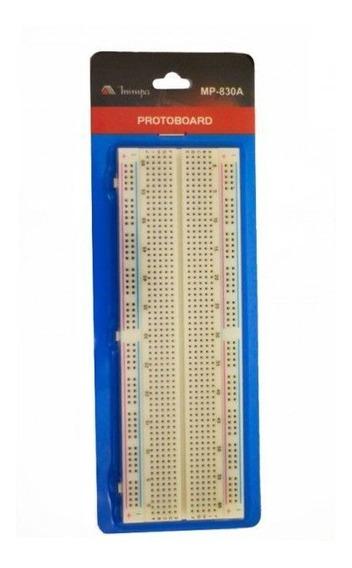 Protoboard 830 Pontos Mp830 Minipa