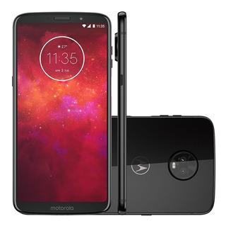 Smartphone Motorola Moto Z3 Play 64gb Câmera Dupla 4gb Ram