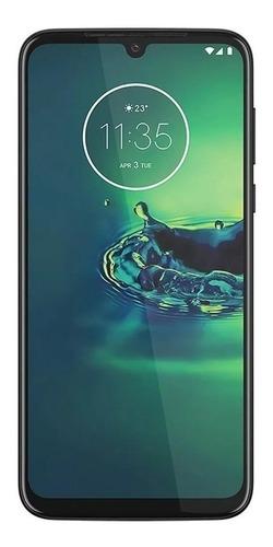 Celular Smartphone Motorola Moto G8 Plus Xt2019 64gb Azul - Dual Chip